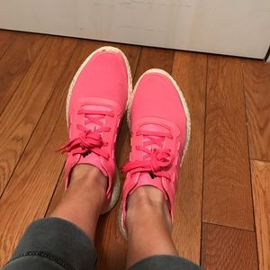 Le adidas rosa caldo taglia 75 poshmark